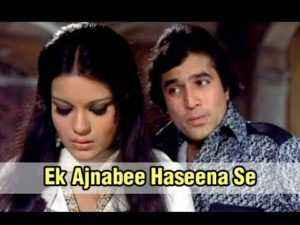 Ek Ajnabee Haseena Se Lyrics Kishor Kumar