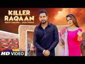 Punjabi Song Killer Raqaan Lyrics Miss Pooja