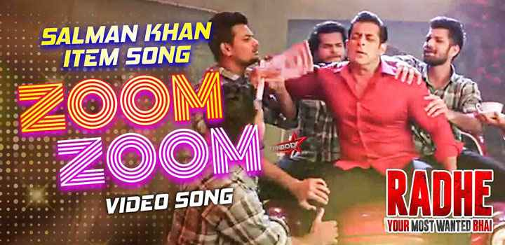 Salman Khan Zoom Zoom Lyrics